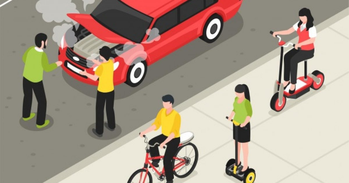 eco-transport-isometric-poster-with-people-riding-scooter-bicycle-segway-past-smoking-machine_1284-26728