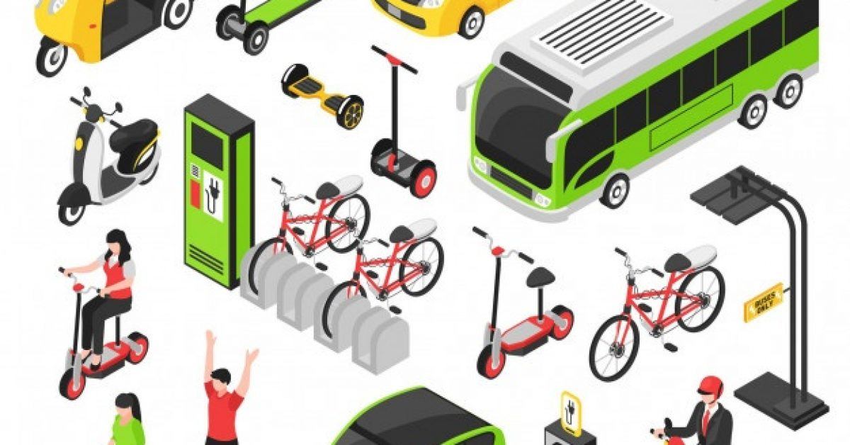 eco-transport-isometric-set-with-electric-car-scooter-bicycle-segway-gyro-isolated-decorative-icons_1284-26725